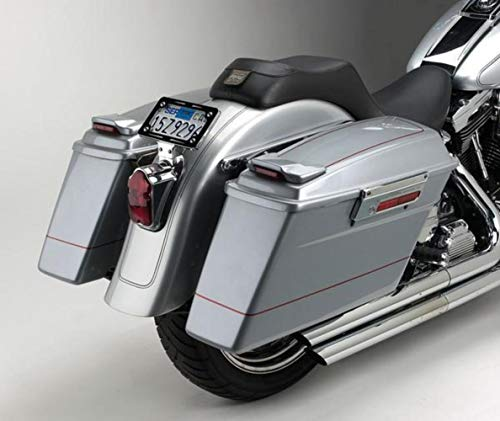 - Cycle Visions Bagger-Tail for Softail - Black Bag Mounts CV-7210