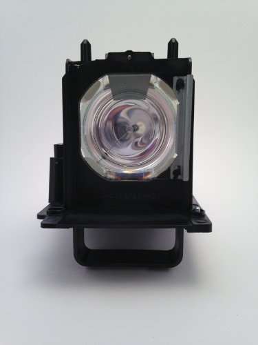 GLAMPS 915B455011 Replacement Lamp With Housing / Case for MITSUBISHI TV Model WD-73640 WD-73740 WD-73C11 WD-73CA1 WD-82740 WD-82840 WD-82940 (Wd73c11 Lamp Tv Mitsubishi)