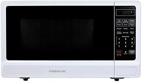 Countertop Microwave Oven Classic 1.1 cu. ft. 1000-Watt with Multi-stage cooking Functions, White