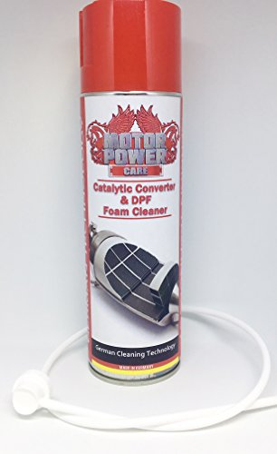 MotorPower Care DPF Diesel particulate Filter Foam Cleaner Cleaner -