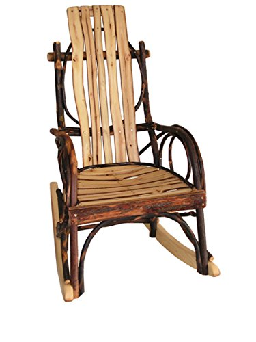 Amish Bentwood Kid's All Hickory Rocker