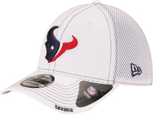 NFL Houston Texans Neo 3930 Cap, White, Medium/Large