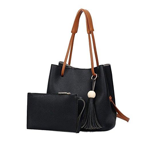 Beautiful Leather Bucket Crossbody Women Shou…