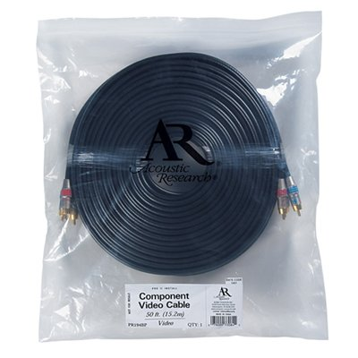(Acoustic Research PR194BP Pro II Install Component Video Cable (50 feet) )