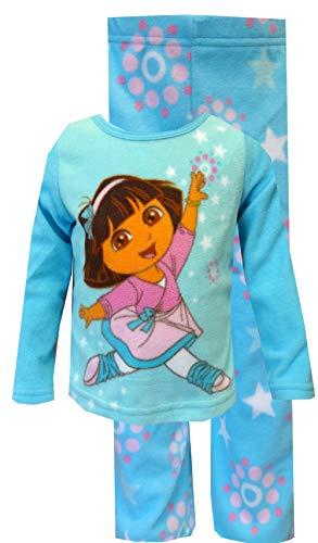 Nickelodeon Dora Falling Star Pajama Set, Multi, 18 Months