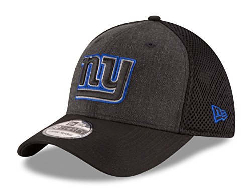 New Era New York Giants NFL 39THIRTY Heathered Black Neo Flex Fit Hat f13d19b27