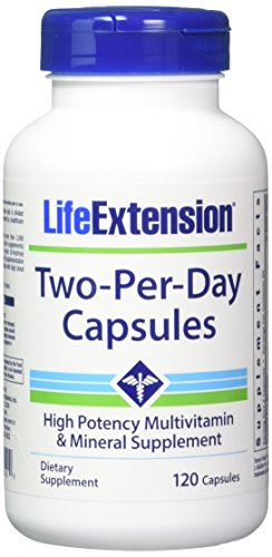Life Extension Two Per Day Capsules, 120 Count 2 Pack