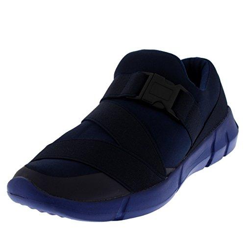 Elastique Chaussures Formateurs Femmes Boucle Glisser Sports En Strap Getfit Rembourré Léger Sur Marchant Marine Poids 1ABqwx7Ia
