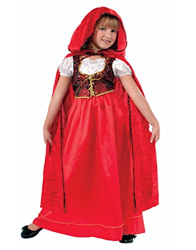 Deluxe Child Little Red Riding Hood Costumes (Forum Designer Collection Ill Red Riding Hood Child Costume, Small/4-6)
