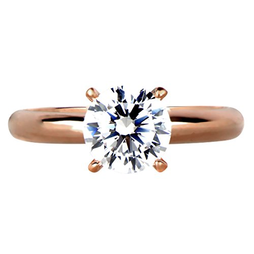 Cubic-Zirconia-Engagement-Ring-Rose-Goldtone