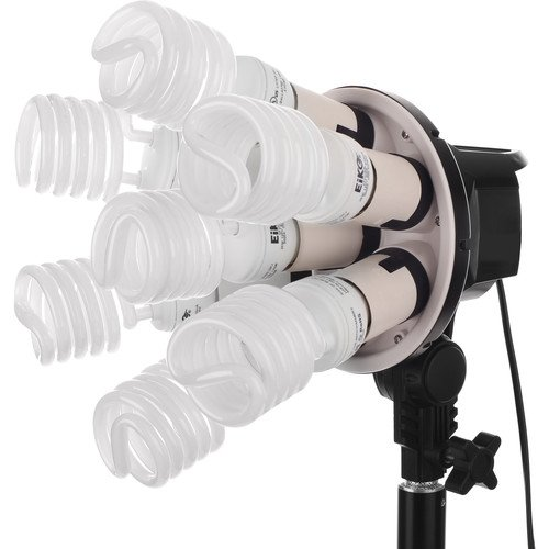 Raya Octa Fluorescent 7 Socket Fixture(2 Pack)
