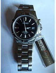 SEIKO 5M620A20 Kinetic Men's Watch 100M Water Resist