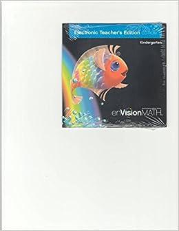 enVision Math, Kindergarten, Electronic Teacher's Editon, CD