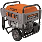 Generac 5606 XP Series XP8000E 12,000 Watt 410cc OHV Portable Gas Powered Generator With Electric Start (Discontinued...