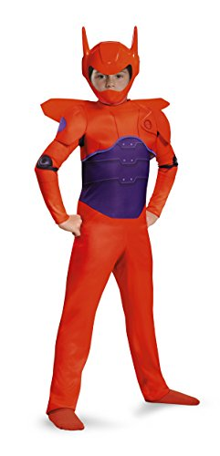 Disguise Red Baymax Classic Costume, X-Small (Baymax Halloween Costume)