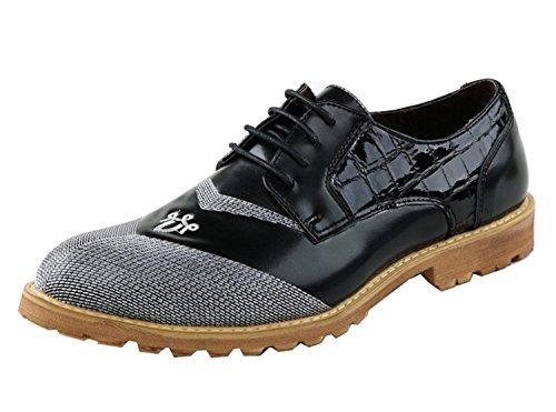 Minitoo , Chaussures à lacets homme - Noir - Nero (nero), 40 EU EU