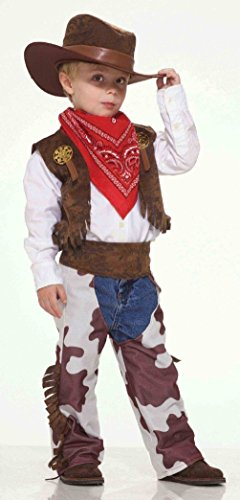 40's Mobster Costumes (Forum Novelties Cowboy Western Kid Toddler Child Costume)