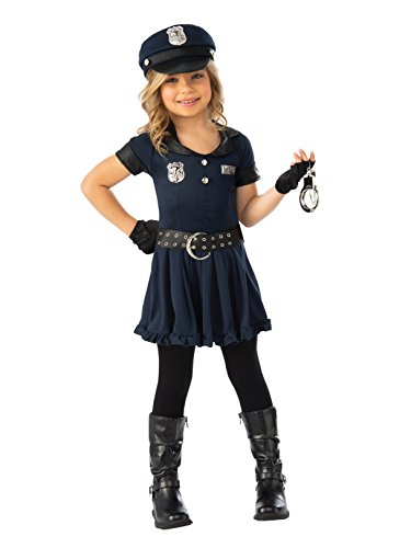 Rubie's Girls Cop Cutie Costume