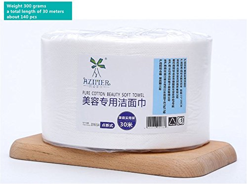 XICHEN 1 Roll of 140 sheets Disposable Towel for Washing Face Cotton Pads Cosmetic Cotton