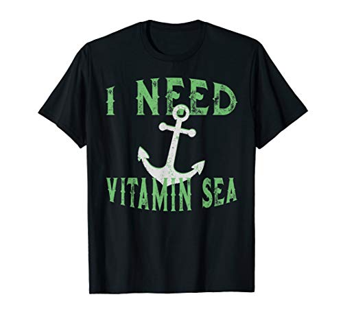 Vitamin C Funshirt I Holidays at the Mediterranean Beach