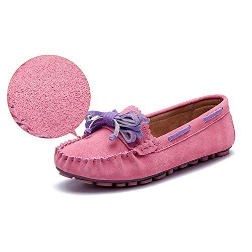 Printemps Féminin couleur Lâches Bout Pink Yxx Décontractées Rond Chaussures 39 Tout Pink Femmes Pour aller Richelieu À Femme Taille CwqA7Sq