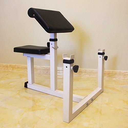 4ae66c4727d15 Sportmad Preacher Curl Bench Weight Bench Press Rack Adjustable ...