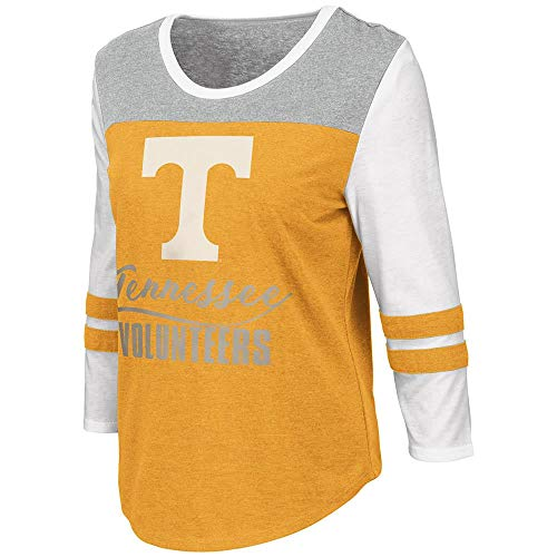 Womens Tennessee Volunteers Palermo 3/4 Sleeve Tee Shirt - L