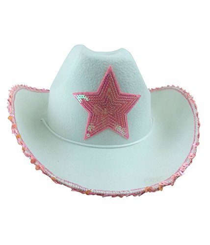 Cowgirl Hat - Princess Cowboy Hats for Women by Funny Party Hats (Adult Black Cowboy Hat)
