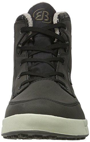 Bruetting Aurora, Zapatillas Altas para Mujer negro/gris
