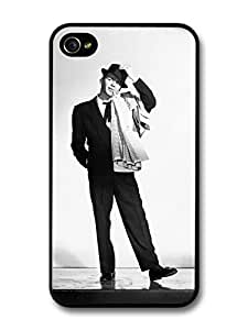 AMAF ? Accessories Frank Sinatra Smoking Singer The Voice case for iPhone 4 4S