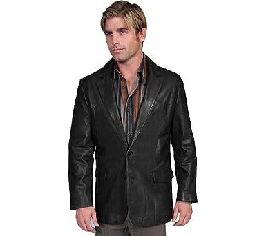 fa041bcdfcb Western Single Point Blazer Color  Black Size  50 at Amazon Men s ...