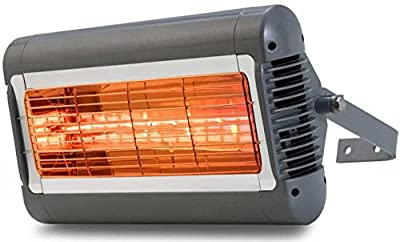 Solaira Infrared Heater, 1.5kw, 208-240v, Silver/Grey