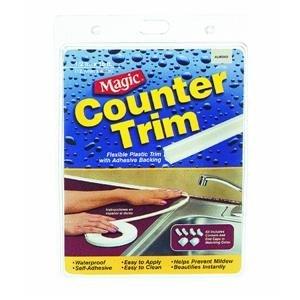 Magic American CT5006T Plastic Counter Trim Strip, Almond