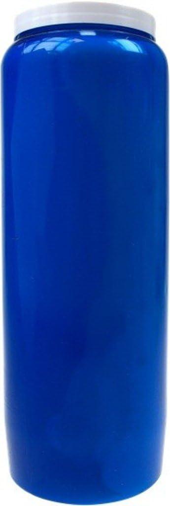 Lampe de Sanctuaire Huile Vegetale - Bleu