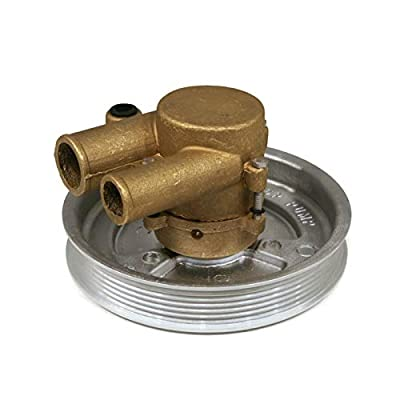 "The ROP Shop | Complete Raw Water Pump, 1"" Inlet & 1.25"" Outlet Port for Volvo Penta 21212799: Automotive"