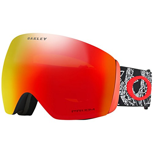 Oakley OO7050-57  Flight Deck Snow Goggles, Craneos Muertos, - Flight Goggles Oakley Deck