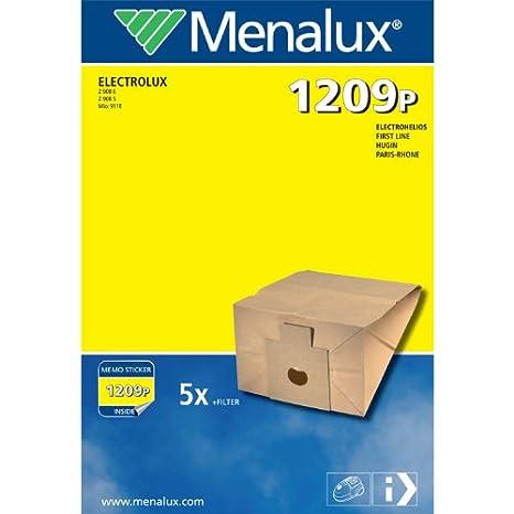 Amazon.com: Menalux 1209 P - Juego de 5 bolsas de papel para ...