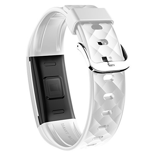 MBHB Waterproof Bluetooth Smart Wristband, Multi Sports Mode Fitness Tracker, Sleep Monitor Bracelet For Android Samsung iOS Apple Smartphone, Black