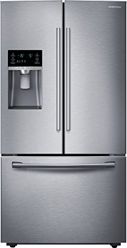 Price comparison product image SAMSUNG RF23HCEDBSR Counter-Depth French Door Refrigerator,  22.5 Cubic Feet,  Stainless Steel