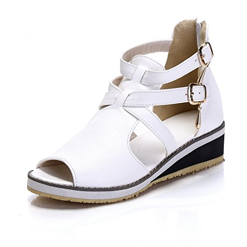 Adee , Sandales pour femme - Blanc - blanc, 38