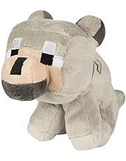 Minecraft 6362 knuffeldier Baby-Wolf; 21,6 cm