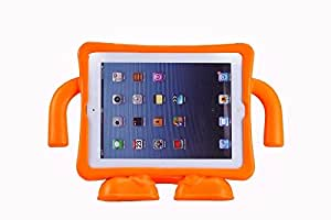 Teckology EVA portable freestanding holder stand iPad 2/3/4 case cover skin orange