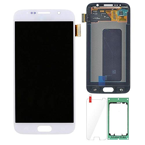 (Display Touch Screen Digitizer Assembly Repair Replacement Part for Samsung Galaxy S6 G920.(White,5.1 inch))