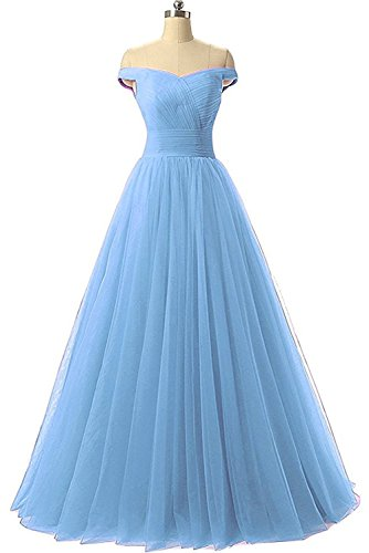 light blue ball gown - 2