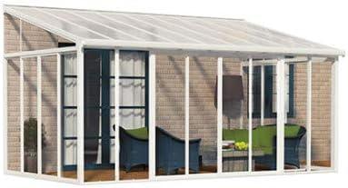 Veranda San Remo 16, 10 M² blanca: Amazon.es: Jardín