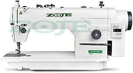 Zoje – Máquina de coser industrial sobre mesa: Amazon.es: Hogar