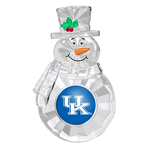 NCAA Kentucky Wildcats Traditional Snowman Ornament ()