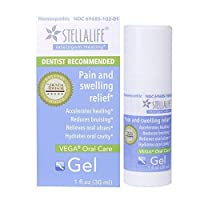 StellaLife Vega Oral Gel: Dry Socket, Tooth Extraction, Sore Gums, Canker Sore,...