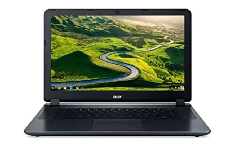 "2017 Acer Flagship CB3-532 15.6"" HD Premium Chromebook - Intel Dual-Core Celeron N3060 up to 2.48GHz, 2GB RAM, 16GB SSD, Wireless AC, HDMI, USB 3.0, Webcam, Chrome OS (Certified Refurbished)"