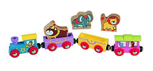 Wooden Animal Train Circus - Thomas & Friends / BRIO Compatible